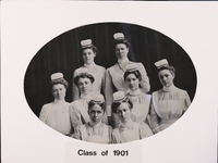 1901 - 1998 Nursing school class photos by year