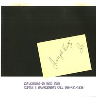 Joseph Entz Jr.