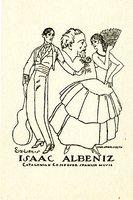 Isaac Albeniz Bookplate
