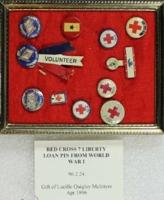 Red Cross 7 Liberty Loan Pin from World War I