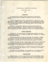 Annual Report binder, 1946-1950