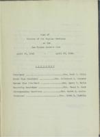 0123 Des Moines Women's Club Minutes 1942-44