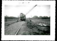 Men Working with Railway Equipment