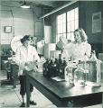 Pharmacy laboratory, The University of Iowa, 1940s