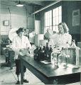 Pharmacy laboratory, The University of Iowa, 1940s