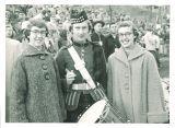 Pharmacy student member of the Scottish Highlanders, The University of Iowa, November 20, 1954