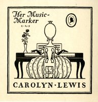 Carolyn Lewis Bookplate