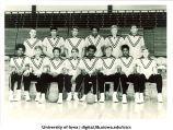 Basketball team, The University of Iowa, February 18, 1970