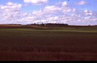 Farmland and Clear Skies.