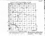 Iowa land survey map of t098n, r030w