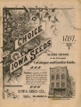 Iowa Seed Company Catalog 1897 Second Edition