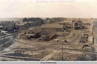45. Birdseye view of Homestead, Iowa Homestead, Iowa, 1900s