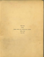 Monroe County Soil and Water Conservation District work plan and other documents, 1944