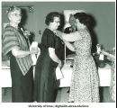 Alumnae at golden jubilee dinner, The University of Iowa, June 10, 1961
