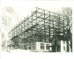 Trowbridge Hall under construction, The University of Iowa, 1915