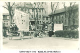 Mecca Day parade floats, The University of Iowa, 1924