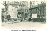 Mecca Day parade floats, The University of Iowa, 1924