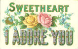 """""""Sweetheart I adore you,"""" August 10, 1908"""