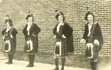 Members of the Scottish Highlanders, The University of Iowa, 1939