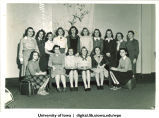 Group of students, The University of Iowa, 1940s