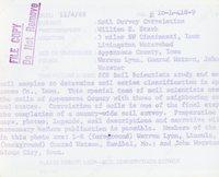 Soil survey correlation, 1969