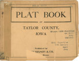Plat book of Taylor County, Iowa