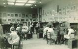 Still life painting class, The University of Iowa, 1920s