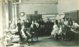Geography class, The University of Iowa elementary school, 1920s